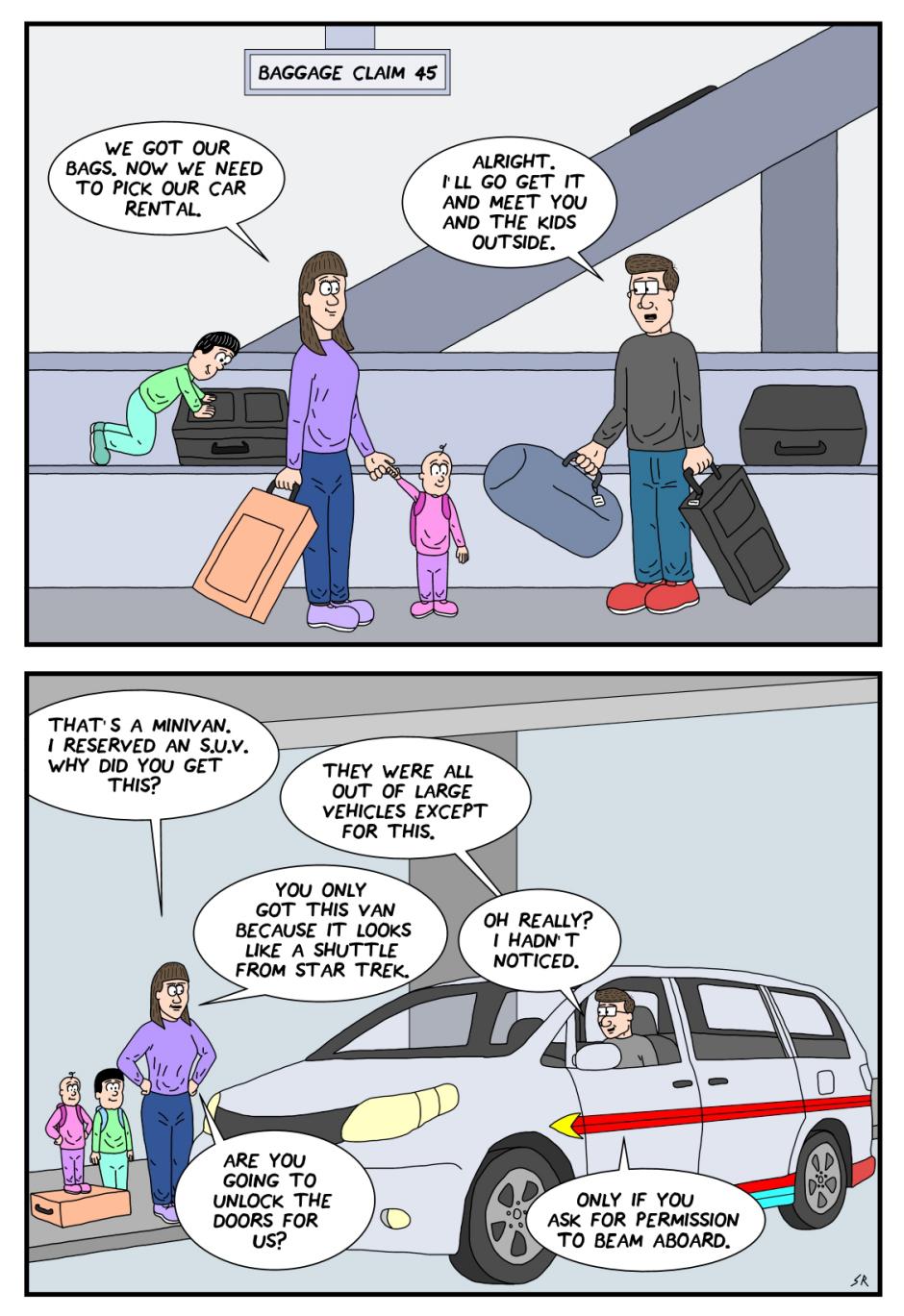 The shuttlecraft